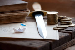 Pirate treasure. Royalty Free Stock Photography