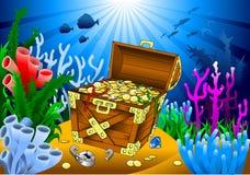 Pirate treasure Royalty Free Stock Photos