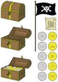Pirate treasure Royalty Free Stock Photo
