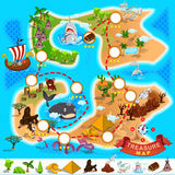 Pirate Treasure Map Royalty Free Stock Image