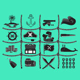 Pirate Vector and Icon Stock Photography