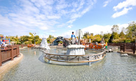 Pirate Water Ride at Legoland Stock Image
