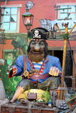 Pirate at Winter Wonderland in Hyde Park London Stock Photo