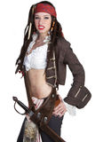 Pirate Woman Stock Image