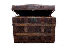 Piratea el pecho de tesoro imagenes de archivo