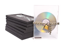 Pirated dvds Stock Photography