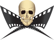 Pirated movie Royalty Free Stock Photography