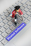 Pirated Software Royalty Free Stock Photos