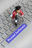 Pirated Software Stock Photos