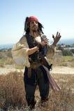 Piratee al capitán foto de archivo libre de regalías