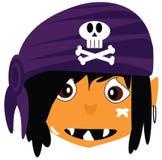 Piratee al muchacho Imagenes de archivo