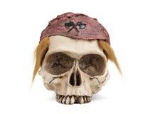 Piratee el cráneo fotos de archivo libres de regalías