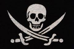 Piratee el símbolo Fotos de archivo