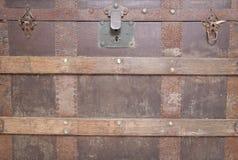 Pirateia a caixa de tesouro Fotografia de Stock Royalty Free