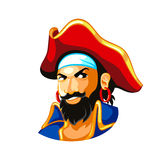 Pirateie o capitão Fotos de Stock Royalty Free