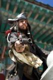 Pirateie a pistola imagem de stock royalty free