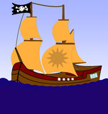 Piraten stockbild