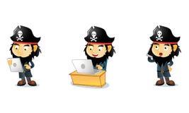 Piraten 3 lizenzfreie abbildung