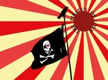 Piraten der Liebe Lizenzfreie Stockbilder