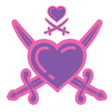 Piraten der Liebe Stockfoto