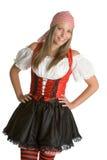 Piraten-Frau Stockbilder