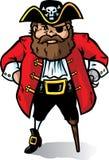 Piraten-Kapitän lizenzfreie abbildung