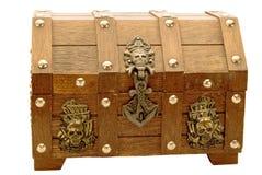 Piraten-Kasten stockbilder