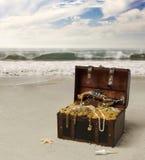 Piraten-Kasten Lizenzfreies Stockfoto