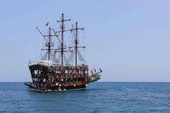 Piraten-Lieferung Stockfoto