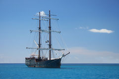 Piraten-Lieferung stockbild