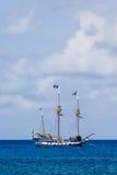 Piraten-Lieferung stockfotografie