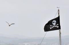 Piraten-Markierungsfahne Lizenzfreies Stockfoto