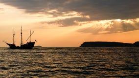 Piraten van Adriatic stock afbeelding