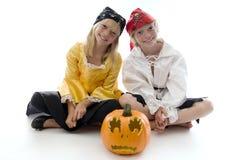 Piraten-Zwillinge! Lizenzfreies Stockbild