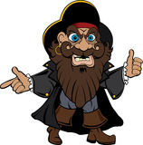 Piratenabbildung Lizenzfreie Stockbilder
