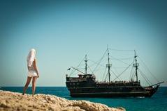 Piratenbraut Lizenzfreies Stockfoto