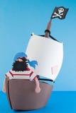 Pirateninsel, Spielzeug Lizenzfreie Stockfotografie