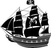Piratenlieferung Stockbild