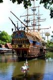 Piratenlieferung Stockfoto