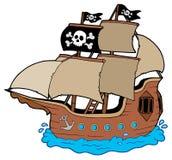Piratenlieferung stock abbildung