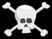 Piratenschädel Stockfoto