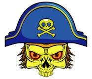 Piratenschädel Stockbild