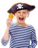 Piratenschreien Lizenzfreies Stockbild