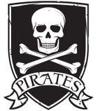 Piratensymbol Stockfoto