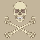 Piratenzeichen Stockfotografie