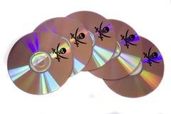 Piratería de software Imagenes de archivo