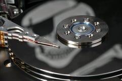 Piratería de software Fotografía de archivo libre de regalías