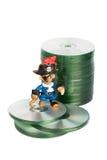 Piratería de software Imagen de archivo libre de regalías