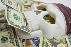 Piraterie et argent Images libres de droits