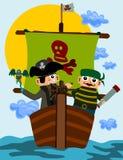 Pirates Photographie stock